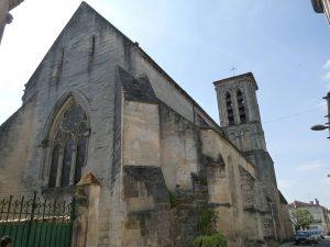 La crypte de l'église Saint Pierre de Remiremont